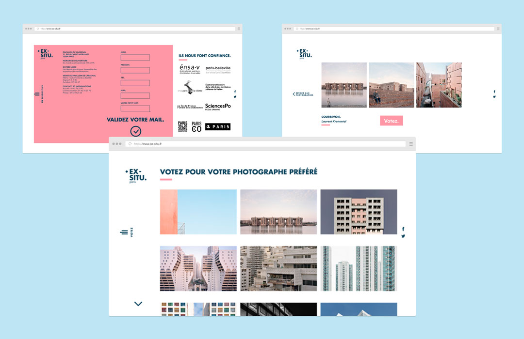 Ex-situ, Yvonne et Colette, Studio, Communication, Design graphique, Création, Tours, Paris, Webdesign, Logo, Naming, Branding