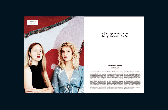 Etapes: magazine, Yvonne et Colette, Studio, Communication, Design graphique, Création, Tours, Paris, Logo, Edition, Web