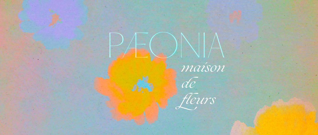 fleuriste paeonia maison de fleurs graphisme design affiche typo typographie communication visuelle logo yvonne et colette tours studio de creation graphiste freelance matisse citation
