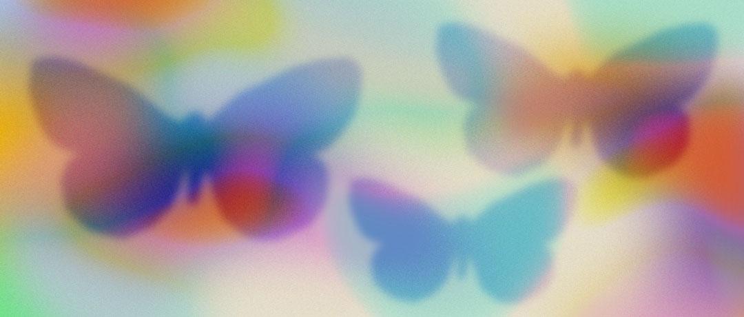 papillon astrologie et cartomancie carte de visite logo cartes tarot de marseille graphisme design affiche typo typographie communication visuelle yvonne et colette tours studio de creation graphiste freelance
